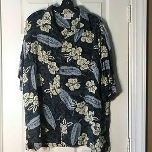 Vintage Pineapple Moon Hawaiian Cruise Wear Size X